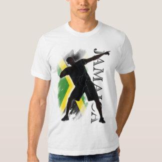 Jamaica - like a lightning bolt! tee shirt