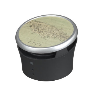 Jamaica Lithographed Map Bluetooth Speaker