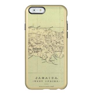 Jamaica Lithographed Map Incipio Feather® Shine iPhone 6 Case