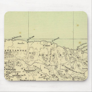 Jamaica Lithographed Map Mouse Pad