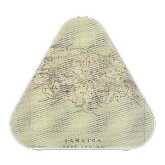 Jamaica Lithographed Map Speaker