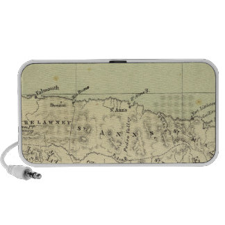 Jamaica Lithographed Map Mp3 Speaker