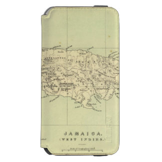 Jamaica Lithographed Map Incipio Watson™ iPhone 6 Wallet Case