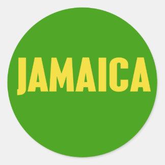 Jamaica Logo Sticker