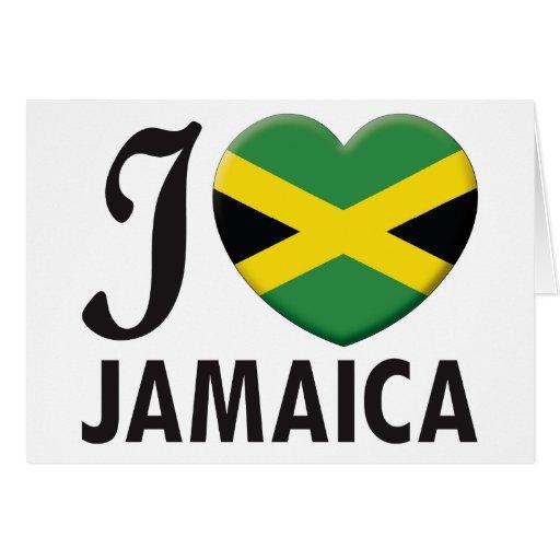 Jamaica Love Greeting Card