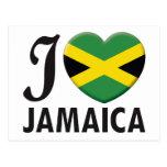 Jamaica Love Postcard