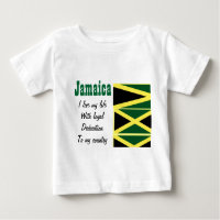 Jamaica-loyalty to my country t-shirts