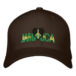 JAMAICA LUV EMBROIDERED BASEBALL HAT