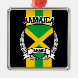 Jamaica Metal Ornament