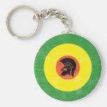 Jamaica Mod Target Keychain