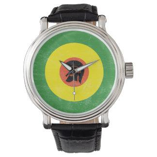 Jamaica Mod Target Strap Watch