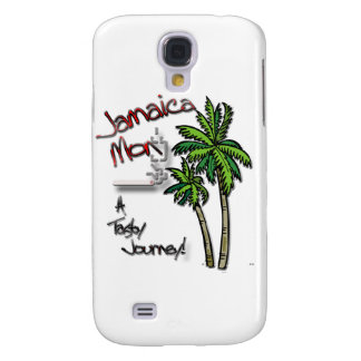 Jamaica Mon red Galaxy S4 Cases