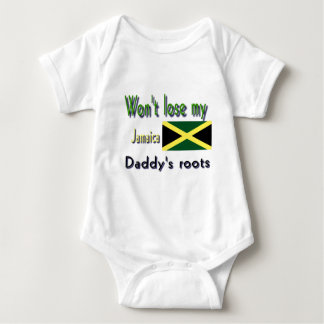 Jamaica my daddy's roots t shirt