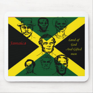 jamaica national hero mouse pad