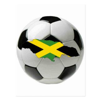 Jamaica national team postcard