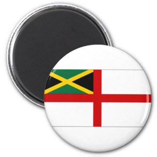 Jamaica Naval Ensign 2 Inch Round Magnet