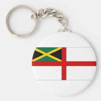 Jamaica Naval Ensign Basic Round Button Keychain