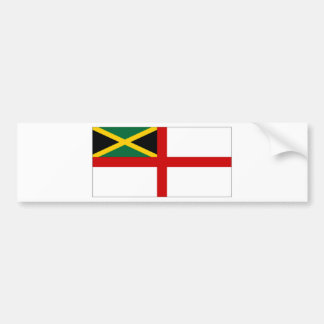 Jamaica Naval Ensign Bumper Sticker