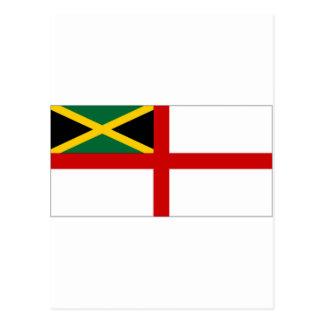 Jamaica Naval Ensign Postcard