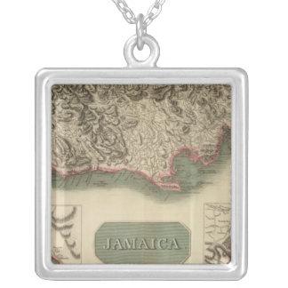 Jamaica Square Pendant Necklace