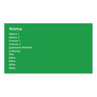 Jamaica - negocio tarjetas de visita