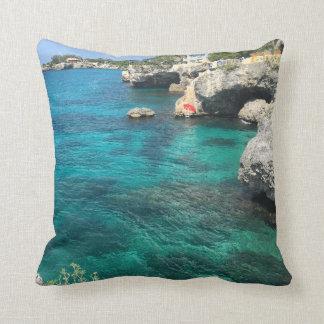 Jamaica Negril Throw Pillow 16x16