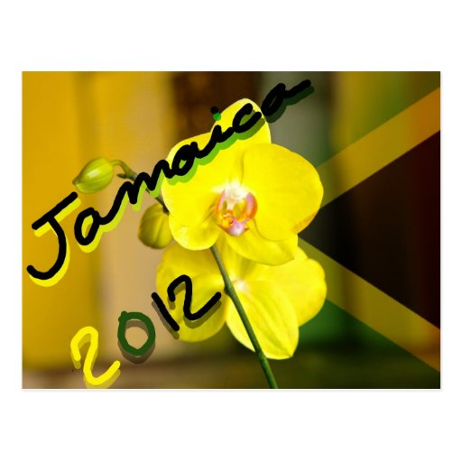 Jamaica New years card Post Card