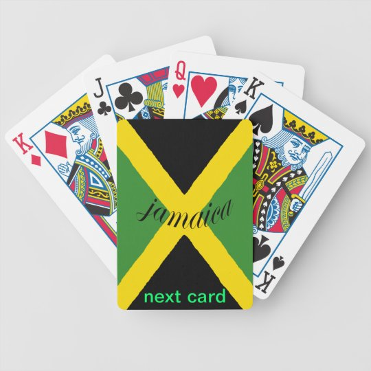 Jamaica Next-Card Deck of Cards