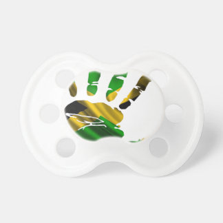 JAMAICA NICE HAND FLAG PRODUCTS PACIFIERS