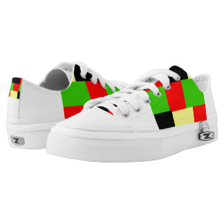 JAMAICA OLYMPIC TEAM PRINTED SHOES