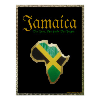 Jamaica- One Love, One Land, One People Poster
