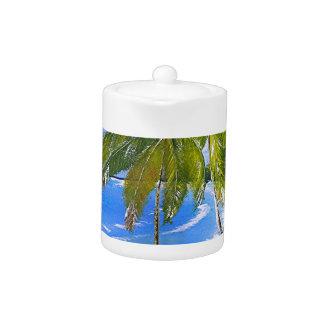 Jamaica Palms Teapot