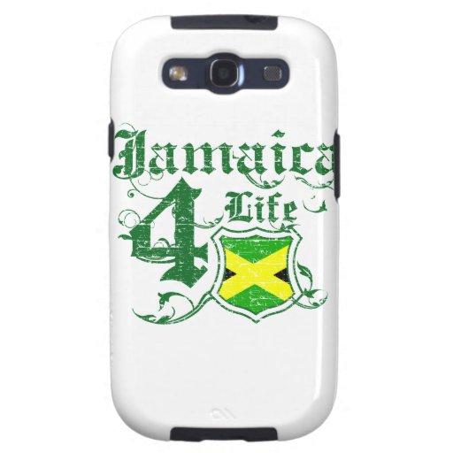 Jamaica para la vida galaxy s3 protectores