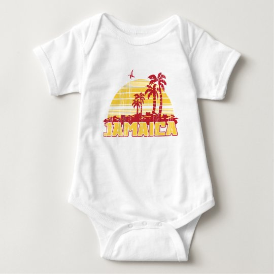 Jamaica Paradise Baby Bodysuit