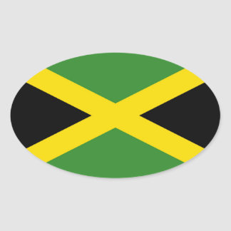 JAMAICA CALCOMANIA OVALADA