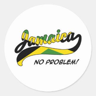 Jamaica Etiqueta Redonda