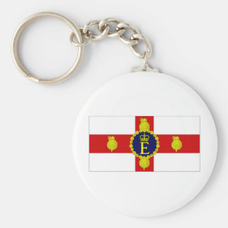 Jamaica Personal Flag of HM The Queen Flag Keychain
