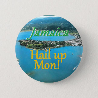 JAMAICA PINBACK BUTTON