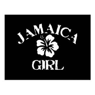 Jamaica Pink Girl Postcard