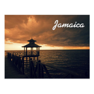 Jamaica Postcard Rafting on the River