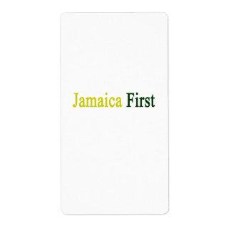 Jamaica primero