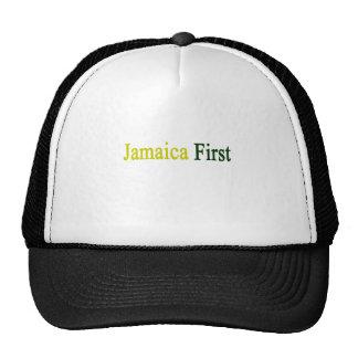 Jamaica primero gorras