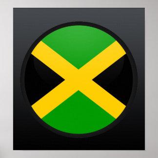 Jamaica quality Flag Circle Poster