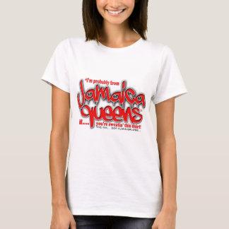 jamaica queens graffiti shirt (red font)