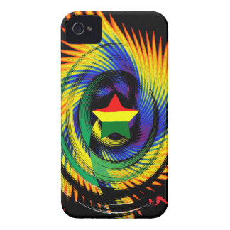 Jamaica Rasta Blackberry Protective Case