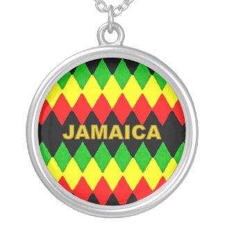 Jamaica Rasta Colors Necklace