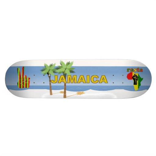 Jamaica Rasta Reggae  Skateboard - Wow!