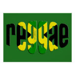 jamaica reggae print