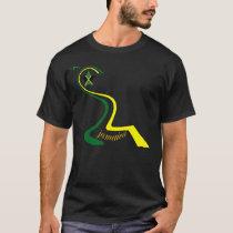 Jamaica Reggae Stagabak Black T Shirt