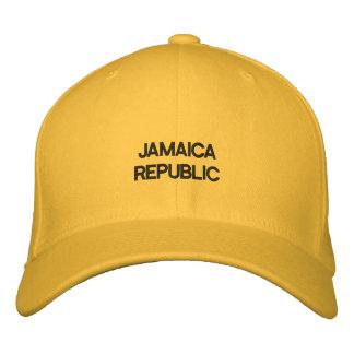 Jamaica Republic Custom Baseball style Cap Embroidered Hat